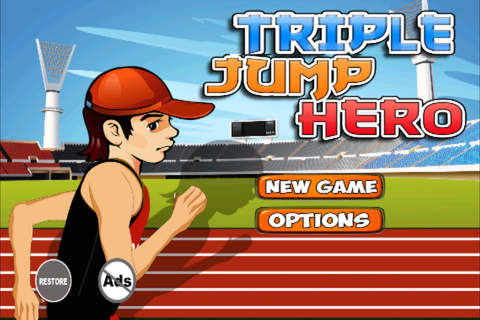 Triple Jump Hero - Join The Athletics Games - náhled