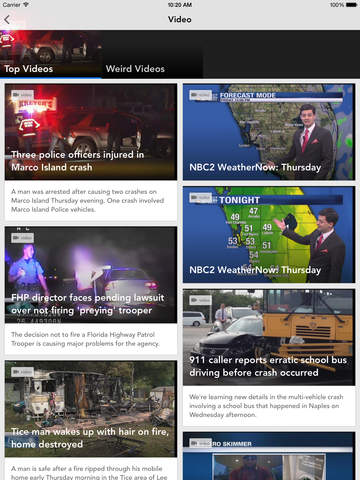 NBC2 App - #1 News App in SWFL screenshot 8