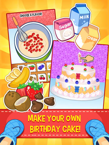 My Birthday Party - Cake, Balloons and Gifts for Kids Everyday screenshot #3