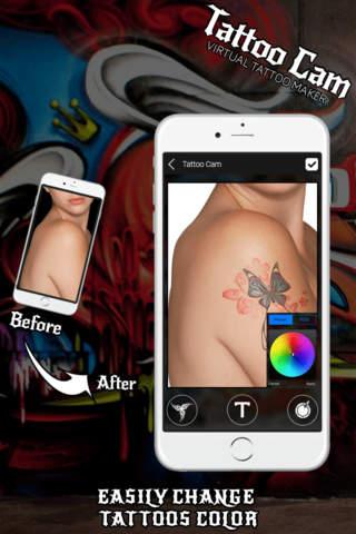 Tattoo Cam Tattoo Photo Maker - náhled