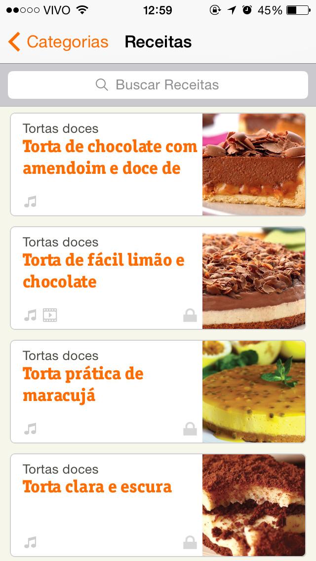 Vivo Receitas da Dona Benta screenshot 5