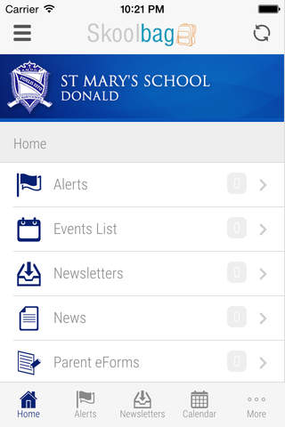 St Mary's School Donald - Skoolbag - náhled