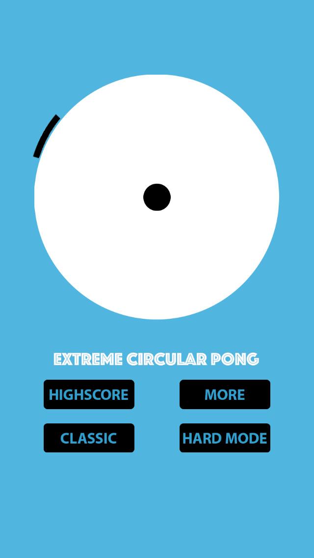 Extreme Circular Pong screenshot 1