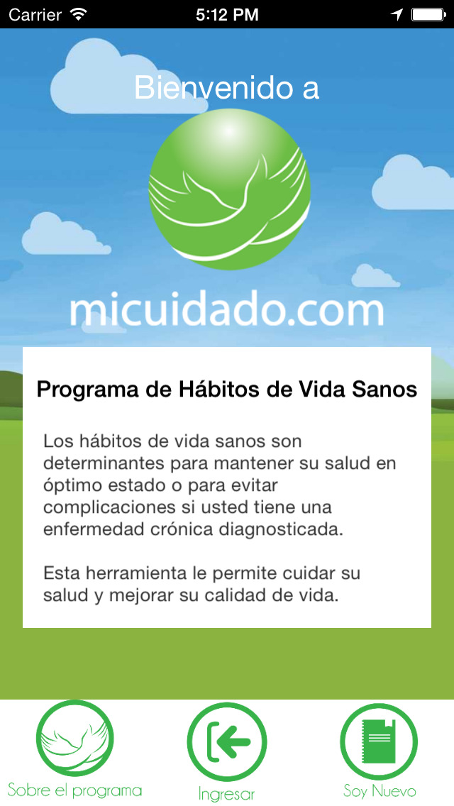 Hábitos de vida saludables screenshot 1