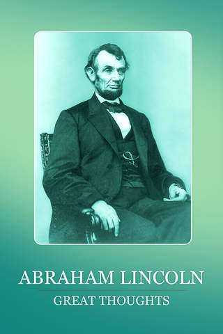 Abraham Lincoln Great Thoughts - náhled