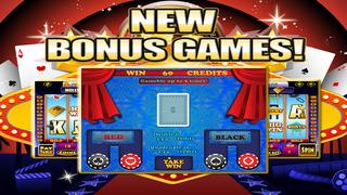 *777* Slots - Aces Hollywood Casino Slot Machine Games HD screenshot 4