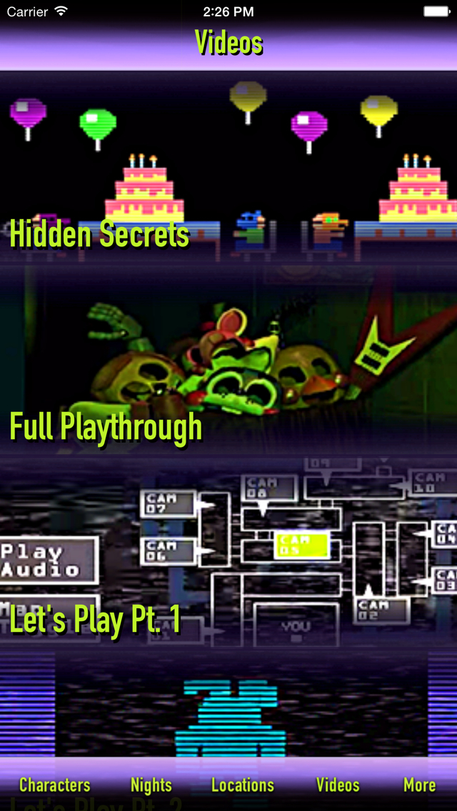 Cheats + Walkthrough for Five Nights at Freddy's 3 screenshot 4