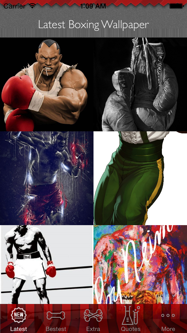 Boxing Wallpapers HD: Best Sports Theme Artworks Collection screenshot 1