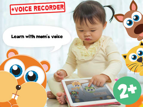 Play with Baby Pets - The 1st Sound Game for a toddler and a whippersnapper free screenshot 9