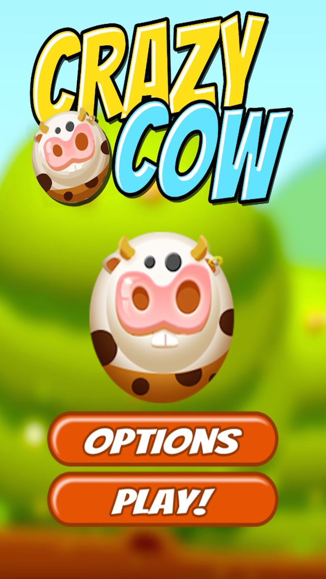 Super Crazy Cow FREE screenshot 1