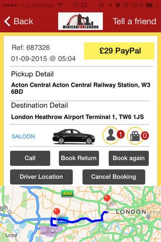 Minicab For London - náhled