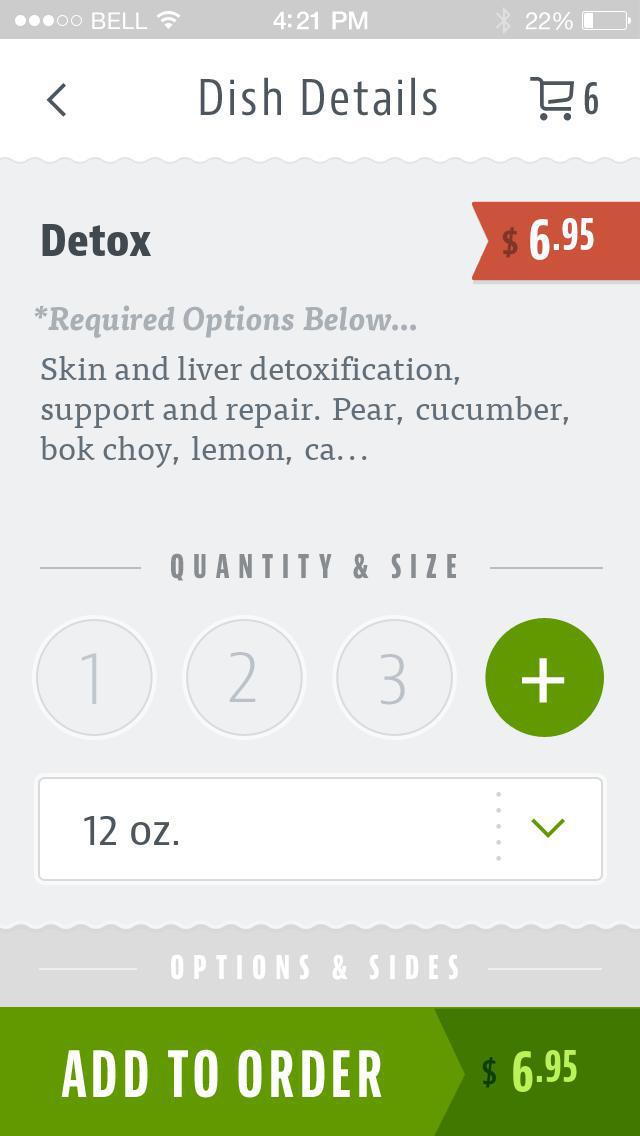 SainRx Organic Juice Bar screenshot 4