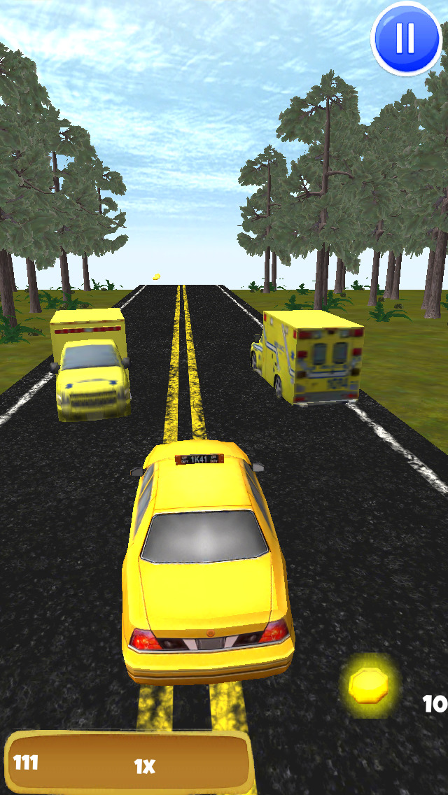 Angry Taxi: 3D Driving Game - FREE Edition screenshot 4