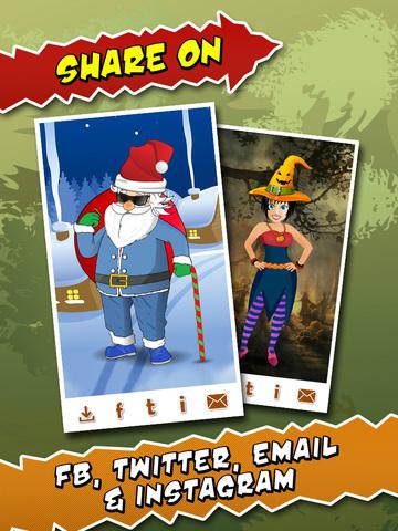 Makeover - Halloween Costumes & Christmas Dress Up screenshot 10