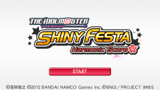 THE iDOLM@STER SHINY FESTA Harmonic Score screenshot 1