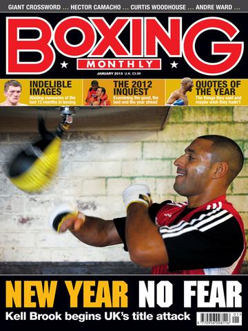 Boxing Monthly Magazine screenshot 5