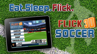 Flick Soccer 3D screenshot 1