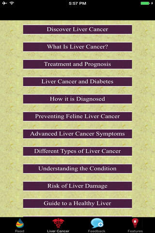 Signs Of Liver Cancer - Treatment and Prognosis - náhled