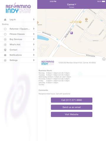 Reforming Indy Pilates Studio screenshot #4