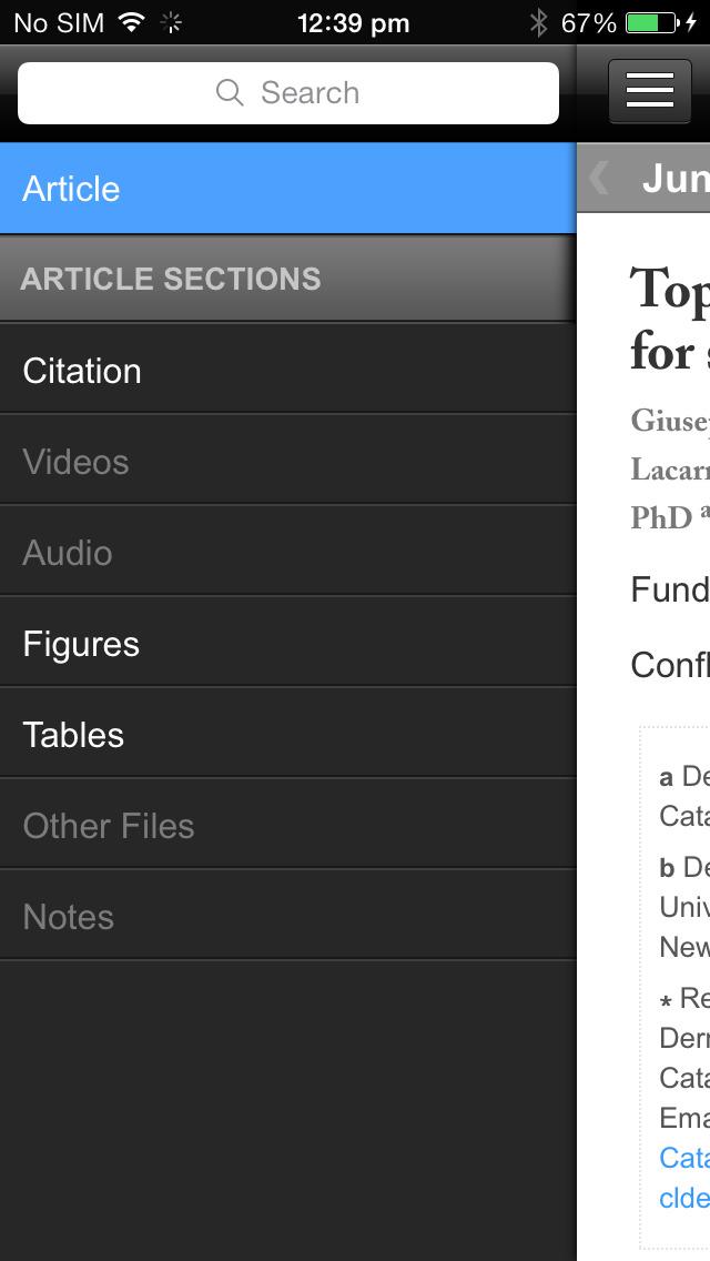 JAAD Journals screenshot 4