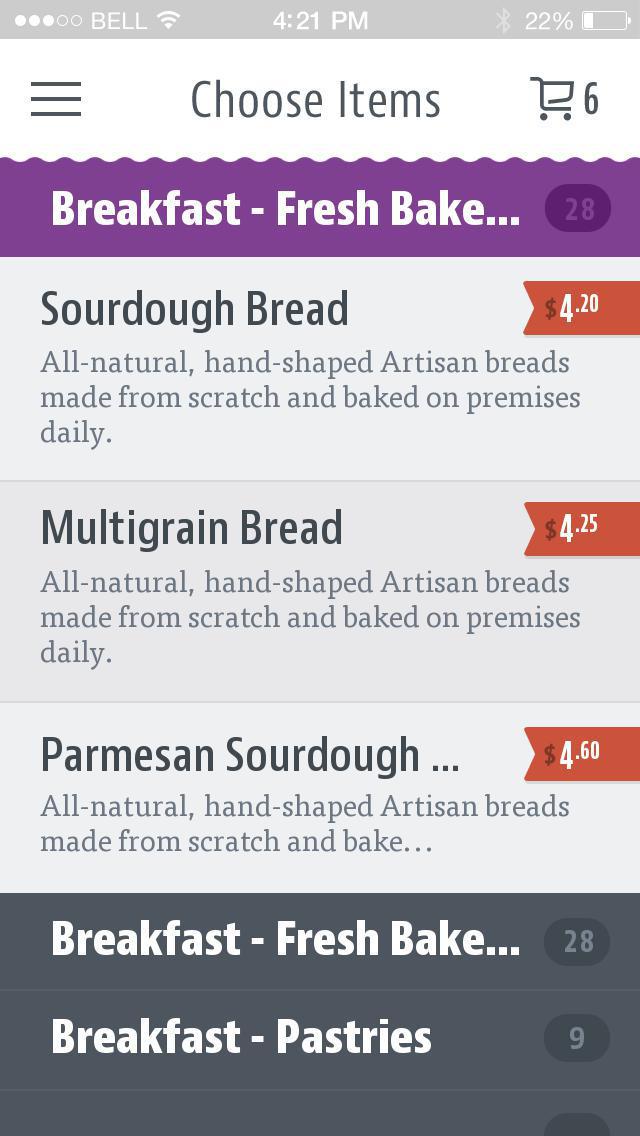 Manhattan Bread & Bagel screenshot 3