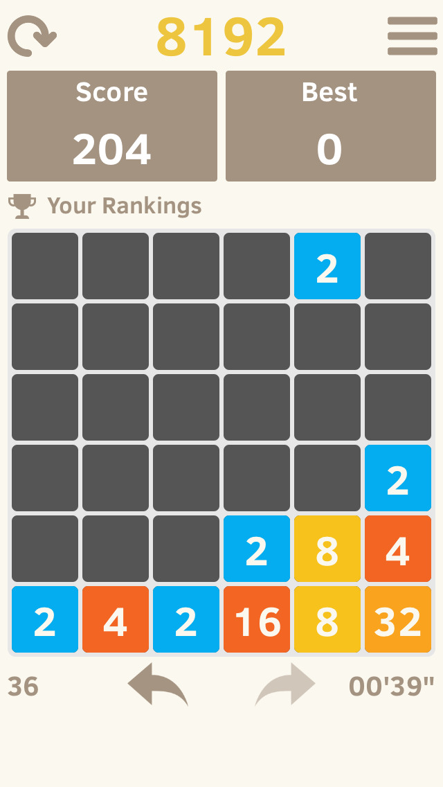2048 4096 8192 screenshot 2