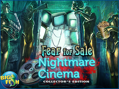 Fear For Sale: Nightmare Cinema HD - A Mystery Hidden Object Game screenshot 5