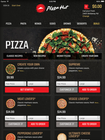 Pizza Hut - Delivery & Takeout screenshot 8