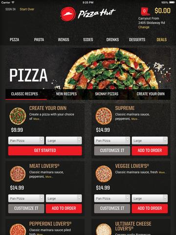 Pizza Hut screenshot 8