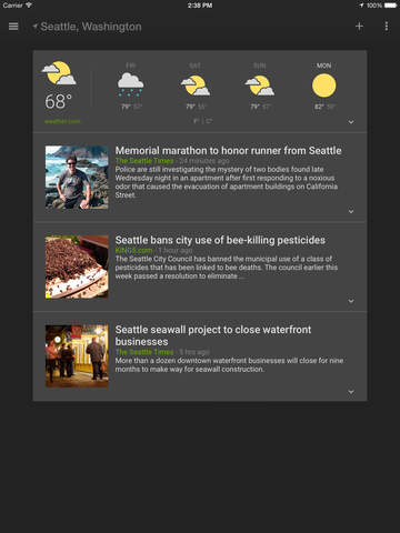 Google News & Weather screenshot 8