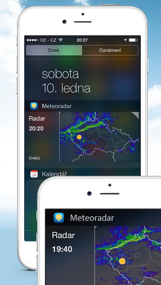 Meteoradar screenshot 2