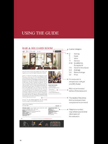 Singapore Tatler Singapore's Best Restaurants 2013 screenshot 6