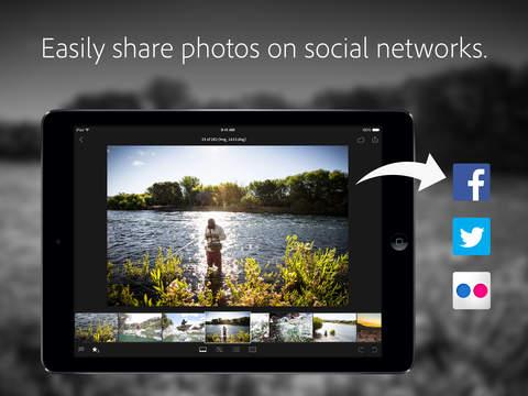 Adobe Lightroom for iPad screenshot 4