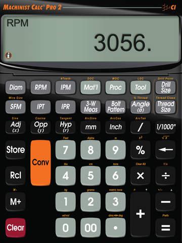 Machinist Calc Pro 2 screenshot 7