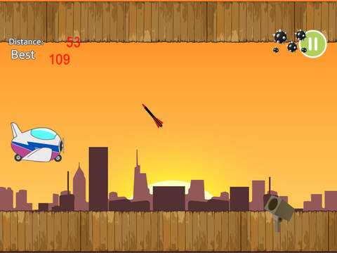 Awesome Air Plane Racing Challenge Pro - cool jet flying action game screenshot 5