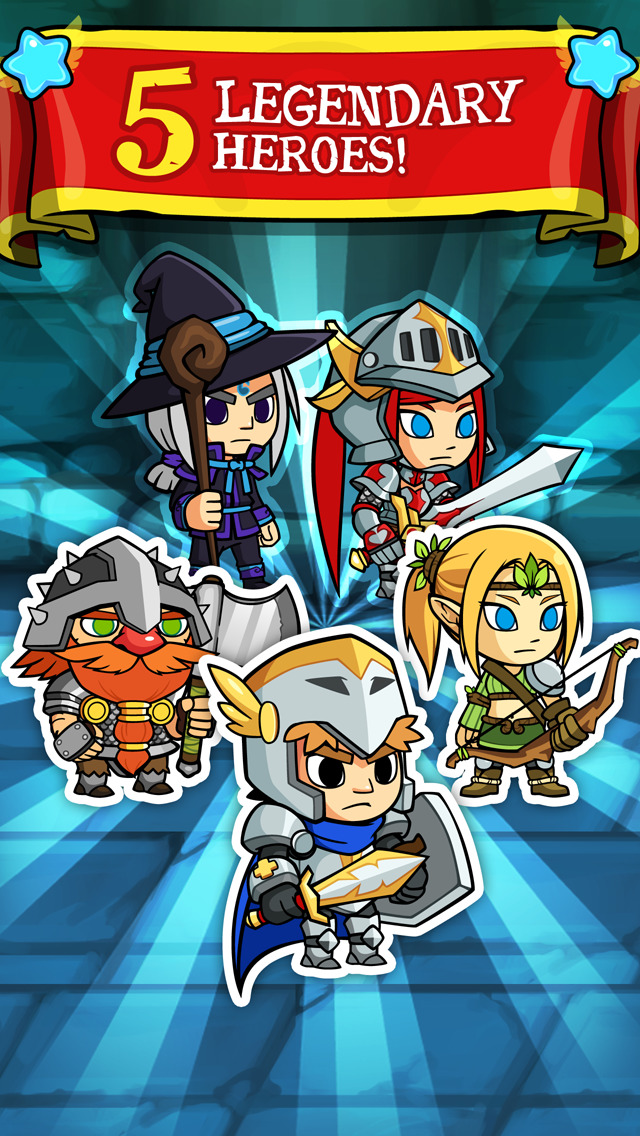 Puzzle Lords - Match-3 Battle RPG Game screenshot #4