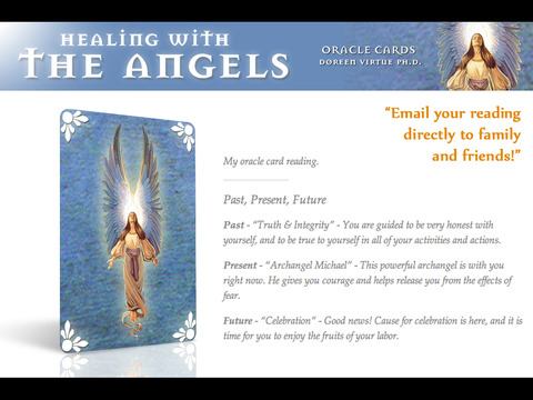 Healing with the Angels Oracle Cards - Doreen Virtue, Ph.D. screenshot 6