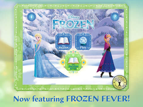 Frozen: Storybook Deluxe - Now with Frozen Fever! screenshot 6