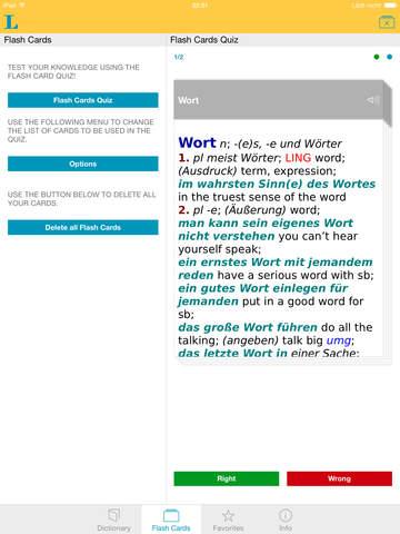 German English XL Dictionary screenshot 8