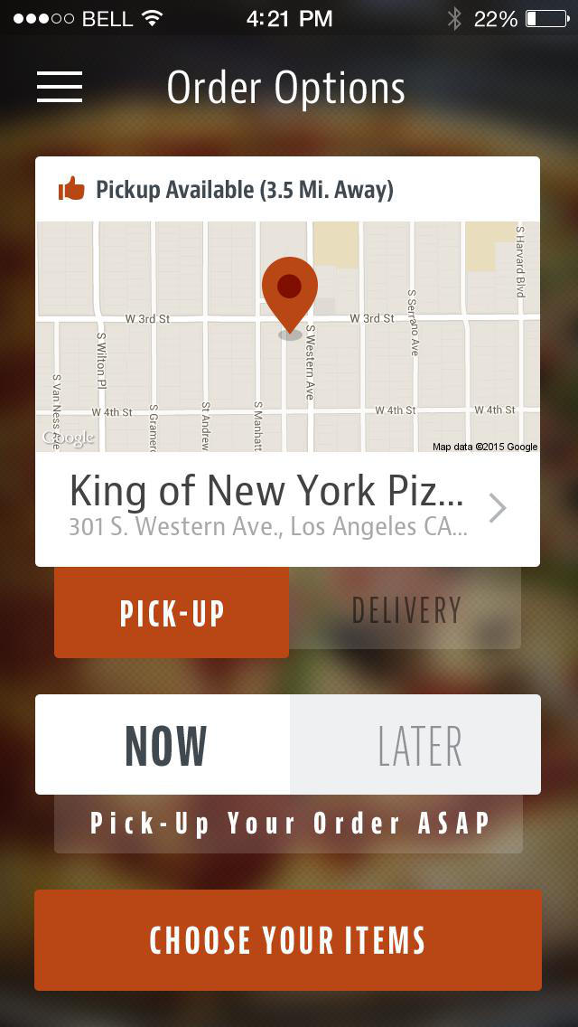 King of New York Pizzeria screenshot 2