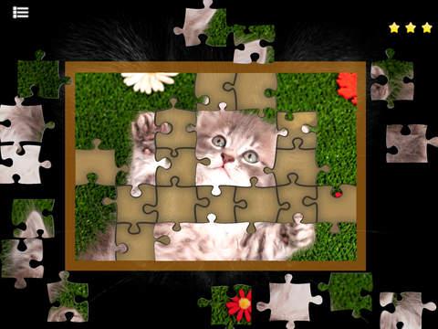 Kitty Cat Jigsaw Puzzles screenshot 3