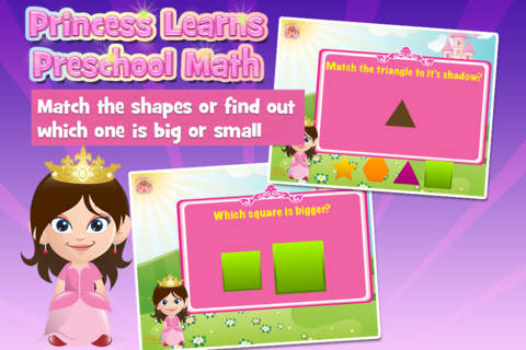 Princess Learns Preschool Math: Free Learning Acti - náhled