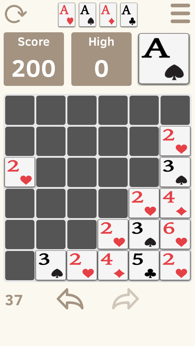 2048 & Solitaire screenshot 3