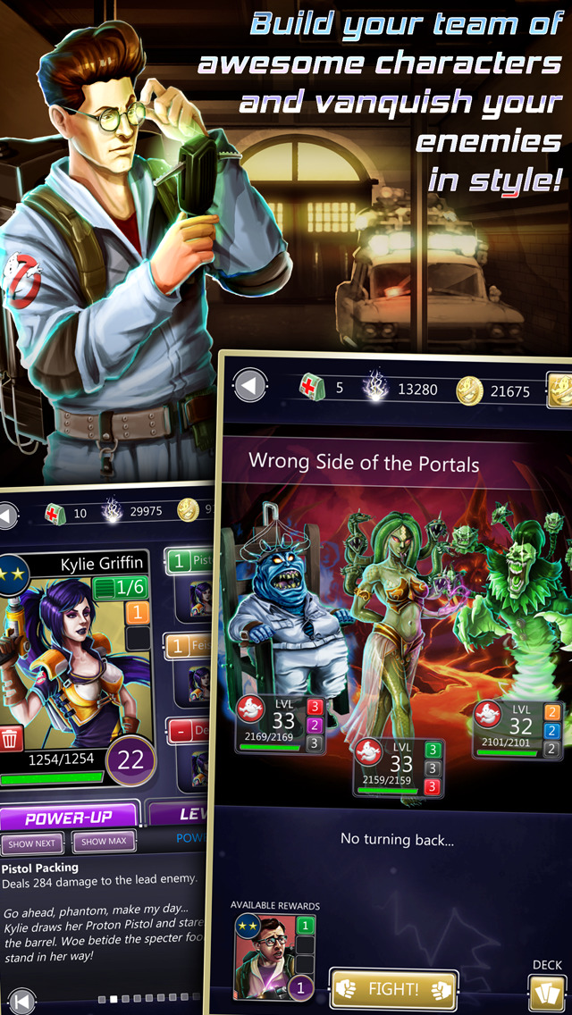 Ghostbusters Puzzle Fighter screenshot 2