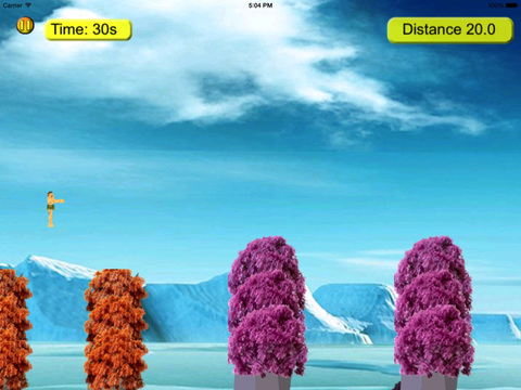 Snow Tarzan Jump Pro screenshot 10