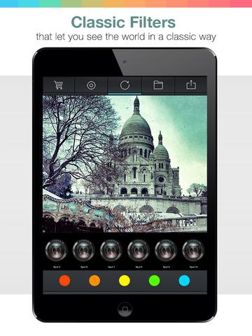 Noir After Light Cam Pro - black and white photo visual creator screenshot 10