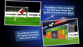 Flick Soccer 3D screenshot 2