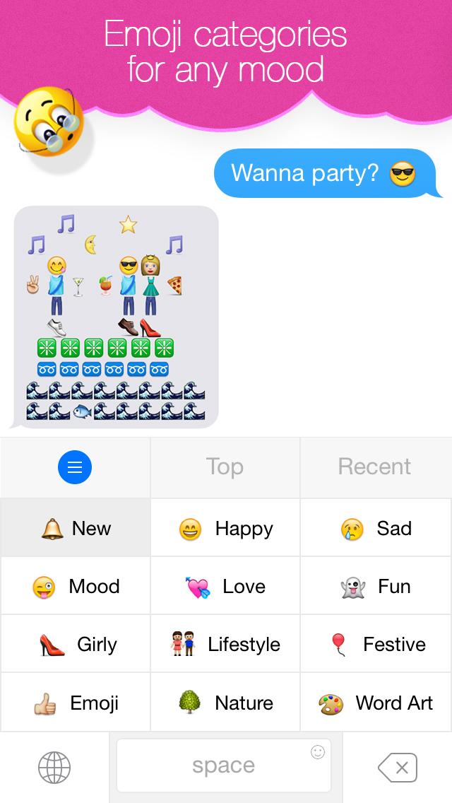 Emoji Keyboard for Me - Keyboard Themes & Emojis screenshot 3