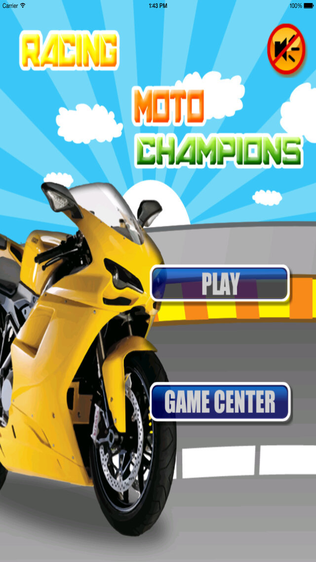 Racing  Moto Champions PRO screenshot 2