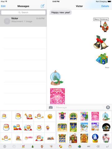 Christmas GIF Keyboard Pro screenshot 7